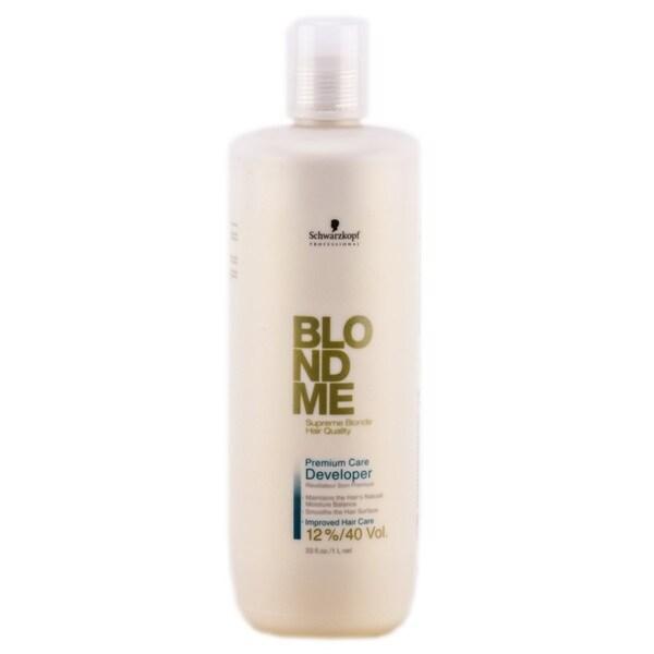 Schwarzkopf Professional Blond Me 33-ounce Premium Care Developer 12% 40 Volume