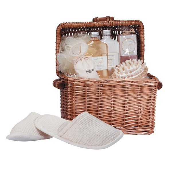 Bath and Body Honey-Vanilla Scent Gift Chest
