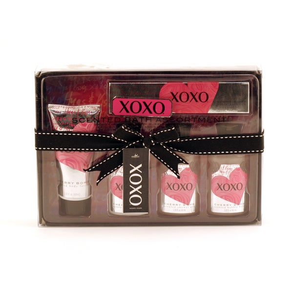 XOXO Cherry Bomb 5-piece Bath and Shower Kit