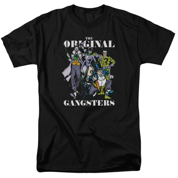 DC/Original Gangsters Short Sleeve Adult T-Shirt 18/1 in Black