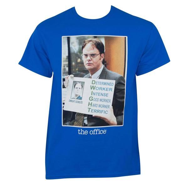 The Office Dwight Blue T-shirt