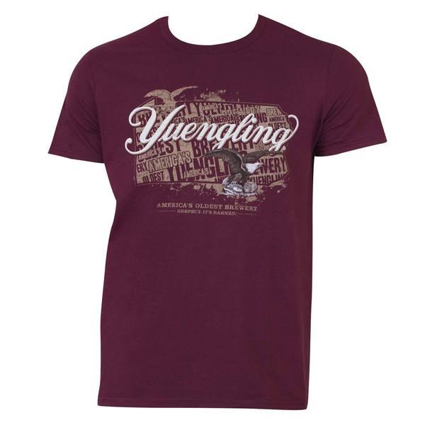 Yuengling Men's Eagle Logo Red T-shirt