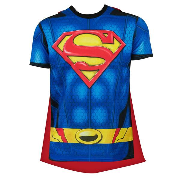Superman Sublimated Cape T-shirt