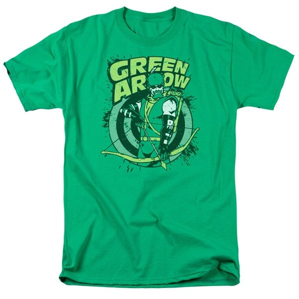 DC/On Target Short Sleeve Adult T-Shirt 18/1 in Kelly Green