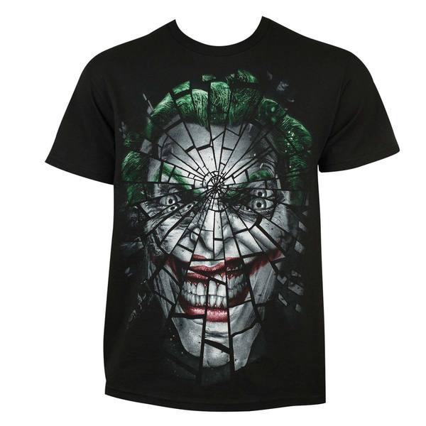 Joker Shattered Face Tee Shirt