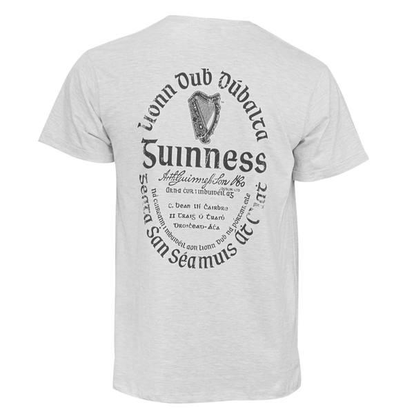 Guinness Light Gaelic Label Tee-shirt