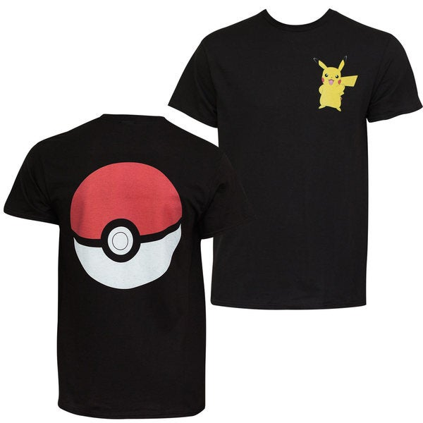 Pokemon Pikachu Pokeball Tee-shirt