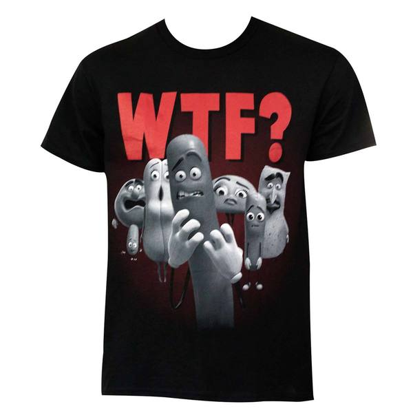 Sausage Party WTF T-shirt