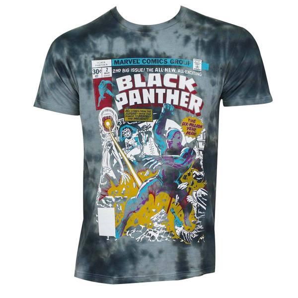 Black Panther Comic Book Cover Tee Shirt