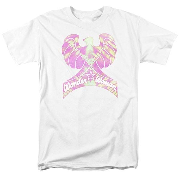 DC/Wonder Bird Short Sleeve Adult T-Shirt 18/1 in White