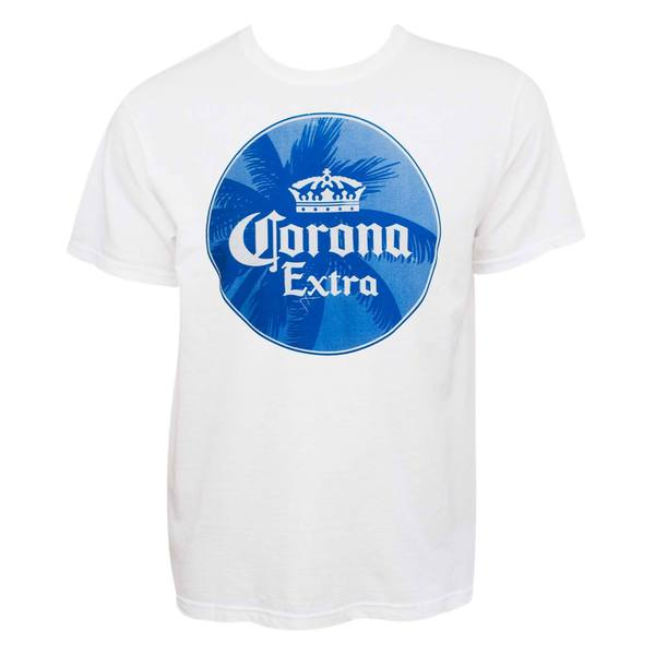 Men's Corona Extra Palm Tree Logo T-shirt