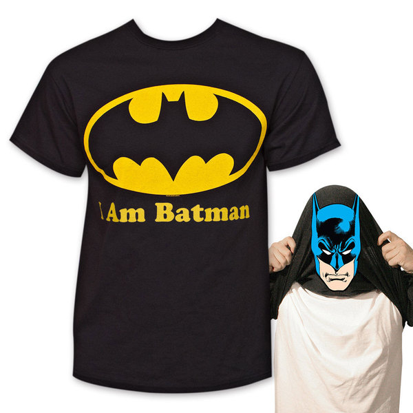 Batman I Am Batman Flip Up Tee-shirt