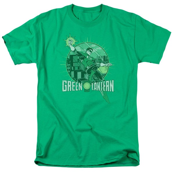 DC/City Power Short Sleeve Adult T-Shirt 18/1 in Kelly Green