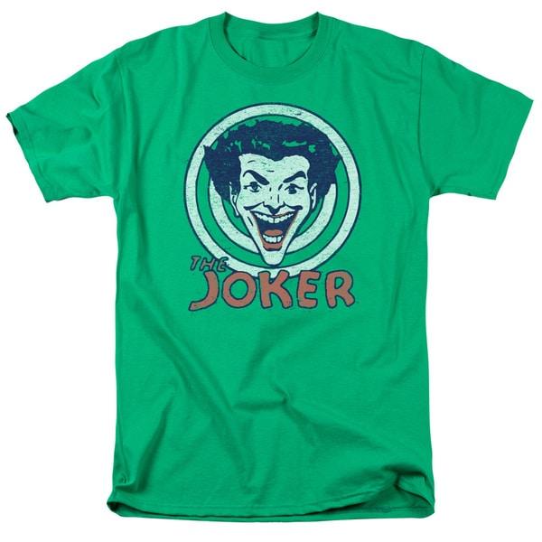 DC/Joke Target Short Sleeve Adult T-Shirt 18/1 in Kelly Green