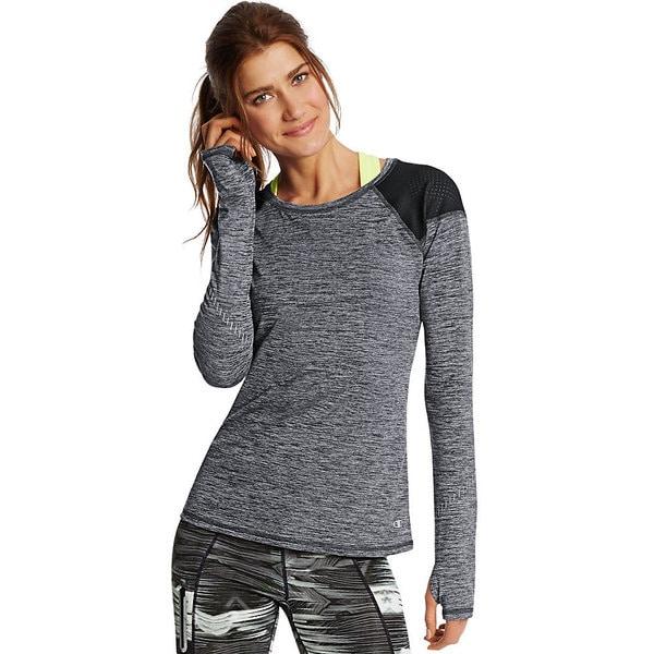 Champion Women's Marathon Polyester/Spandex Longsleeve T-shirt 20724433