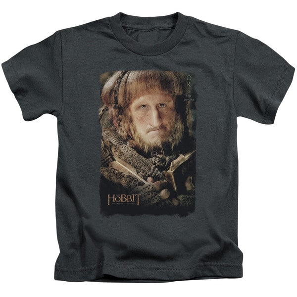 The Hobbit/Ori Short Sleeve Juvenile Graphic T-Shirt in Charcoal