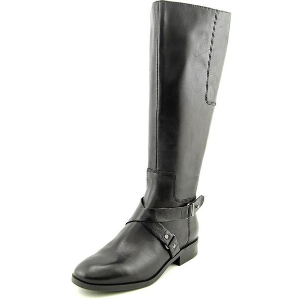 Nine West Women's Blogger Wide Calf Leather Boots