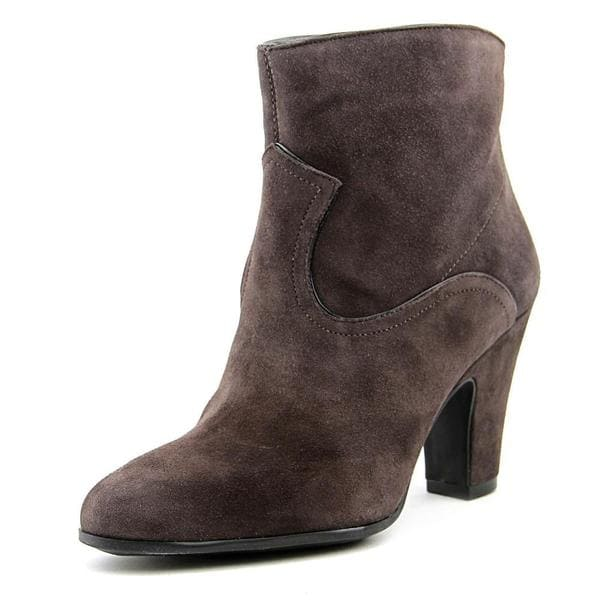 Nine West Women's Quarrell Tan Suede Ankle Boots