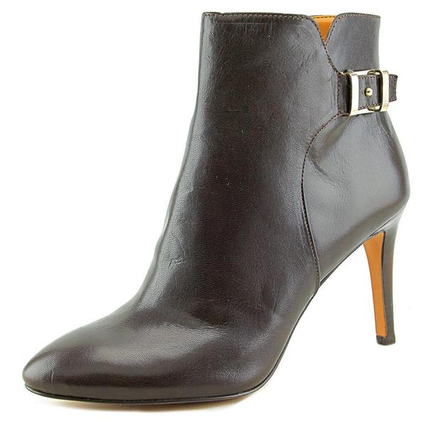 Nine West Women's Palafox Brown Leather Boots