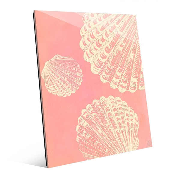 Clamshell Trio Pink' Acrylic Wall Art