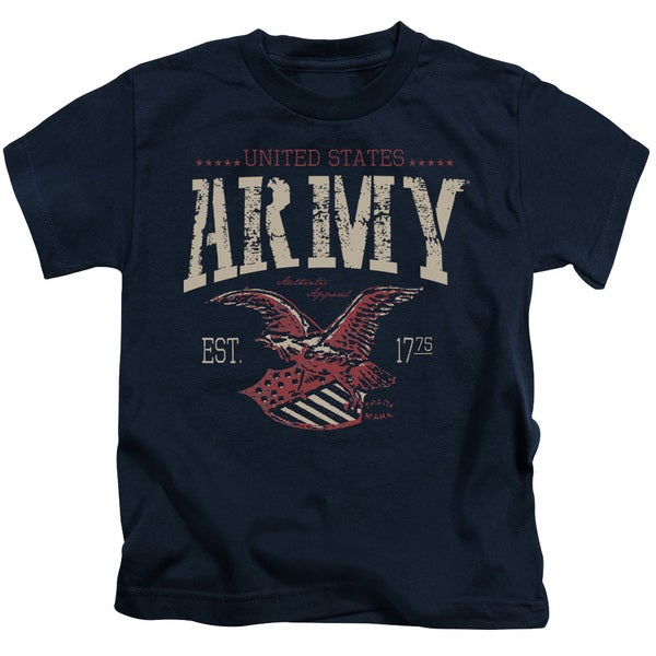 Army/Arch Short Sleeve Juvenile Graphic T-Shirt in Navy
