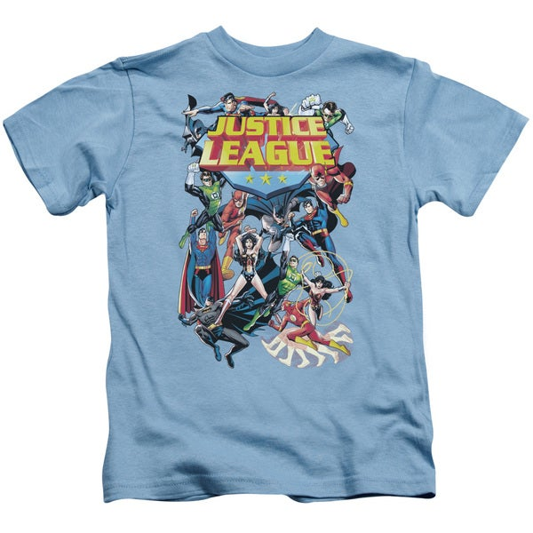 JLA/League A Plenty Short Sleeve Juvenile Graphic T-Shirt in Carolina Blue