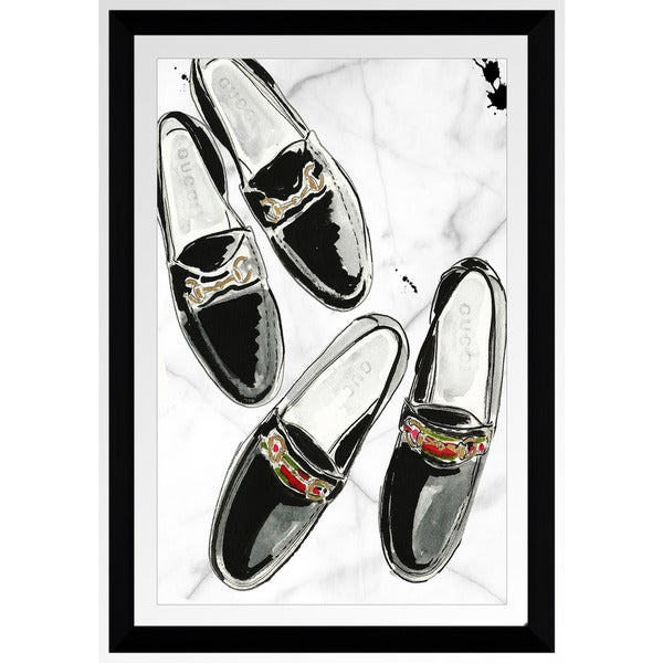 "BY Jodi ""Sole Mates"" Framed Plexiglass Wall Art"