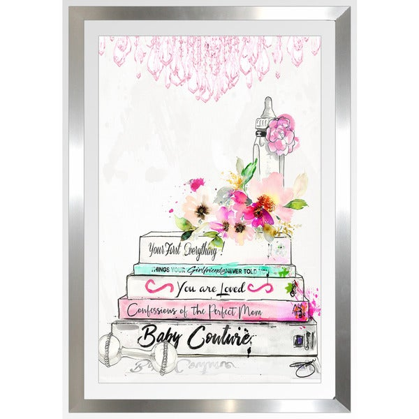 "BY Jodi ""Read To Me"" Framed Plexiglass Wall Art"