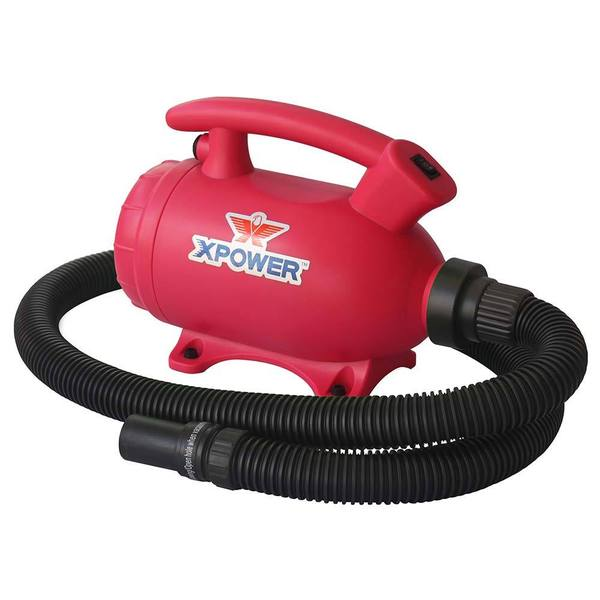 XPower B-55 Home Grooming 2-in-1 Pet Force Dryer and Vacuum