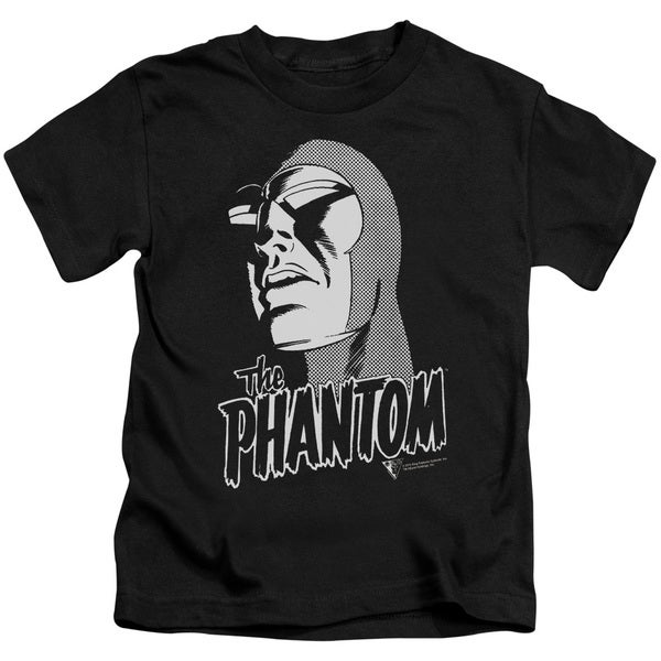 Phantom/Inked Short Sleeve Juvenile Graphic T-Shirt in Black