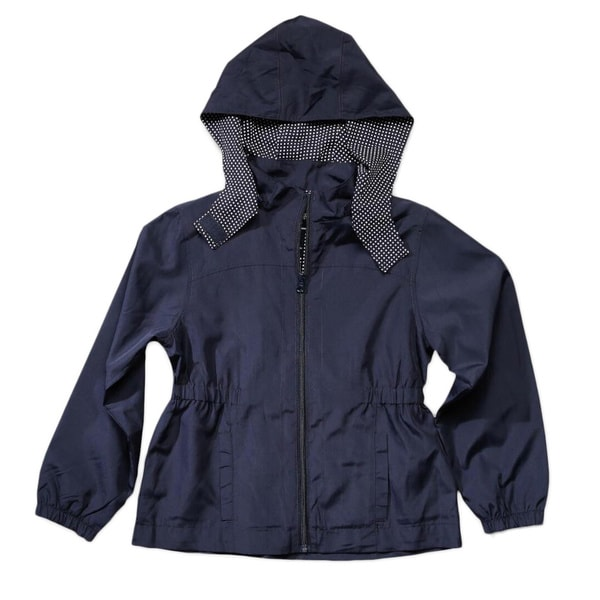 French Toast Girls' Detchable Hood Jacket