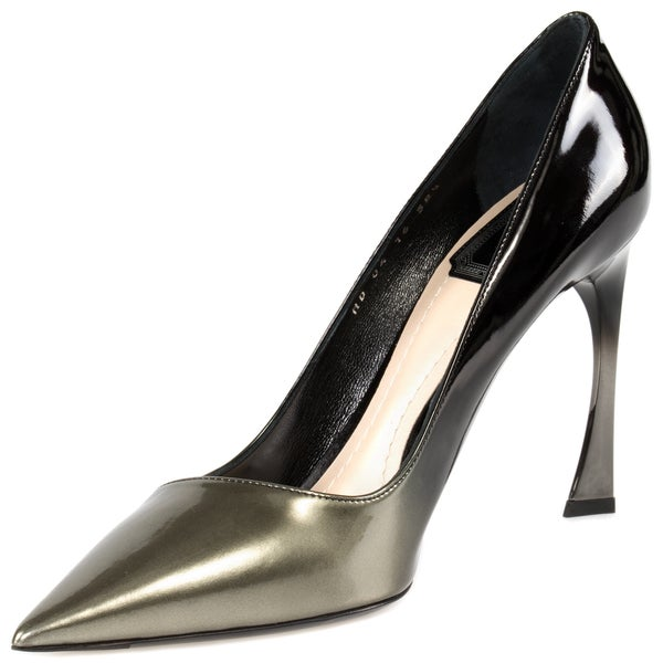 Dior Pump Shoes Graded Patent Calfskin