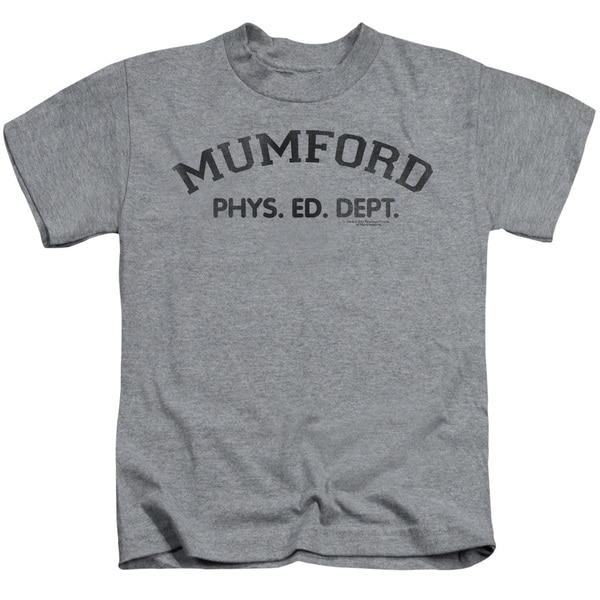 Bhc/Mumford Short Sleeve Juvenile Graphic T-Shirt in Heather