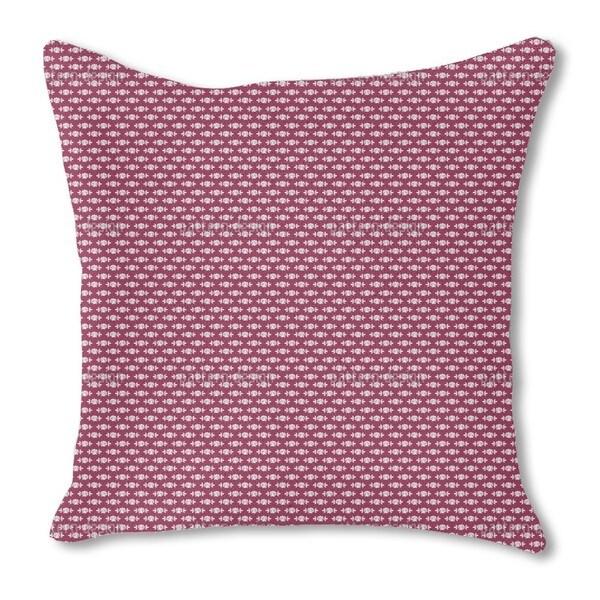 Sleeping Roses Mum Burlap Pillow Double Sided
