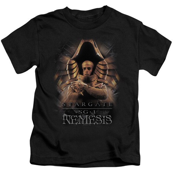 Sg1/Nemesis Short Sleeve Juvenile Graphic T-Shirt in Black