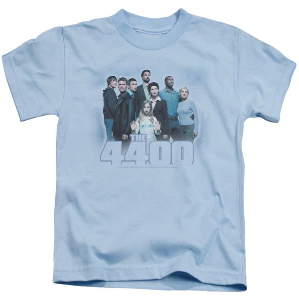 4400/By The Lake Short Sleeve Juvenile Graphic T-Shirt in Light Blue