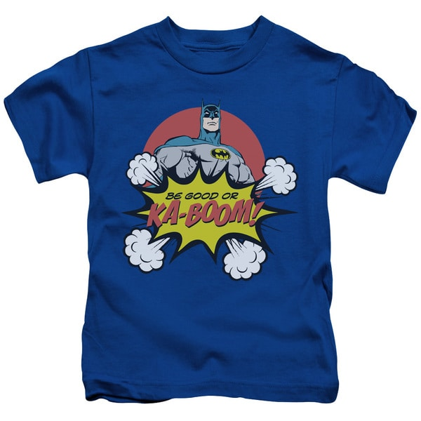 DC/Kaboom Short Sleeve Juvenile Graphic T-Shirt in Royal