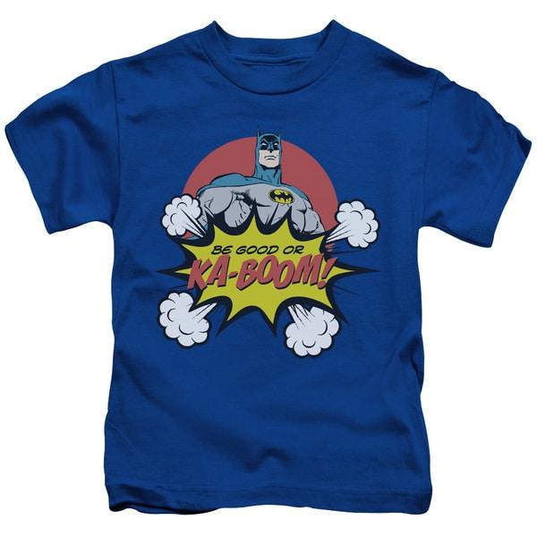DC/Kaboom Short Sleeve Juvenile Graphic T-Shirt in Royal