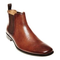 Men's Steve Madden Hibrid Chelsea Boot Tan Leather