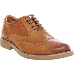 Men's Steve Madden Tremerr Wing Tip Oxford Dark Tan Leather