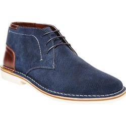 Men's Steve Madden Hendric Chukka Boot Navy Suede/Leather