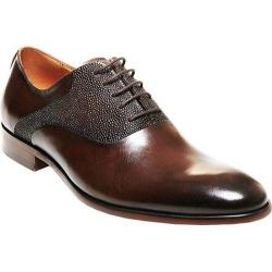 Men's Steve Madden Prymm Plain Toe Oxford Brown Leather