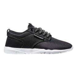 Boys' DVS Premier 2.0 Sneaker Black/White Mesh