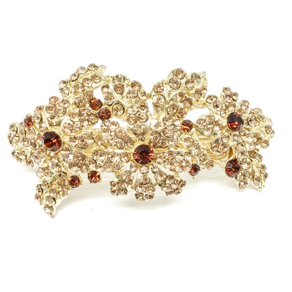 Kate Marie Ashtor Goldtone Rhinestone Crown Tiara
