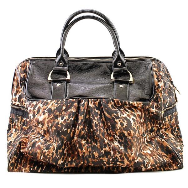 LeSportsac Women's 'Sig Travel Satchel' Brown Synthetic Handbag