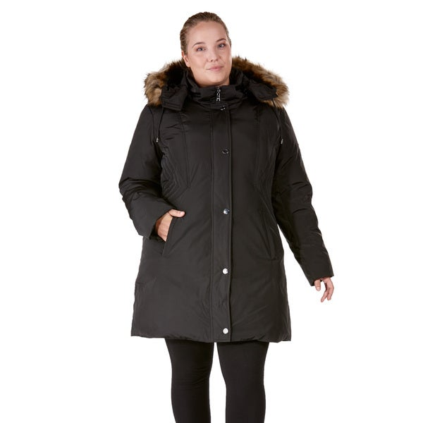 Nuage Provence Plus-size Polyester Down Coat