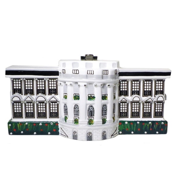 Timmy Woods White House Limited Edition Wooden Handbag