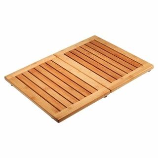 Bamboo Floor and Shower Mat