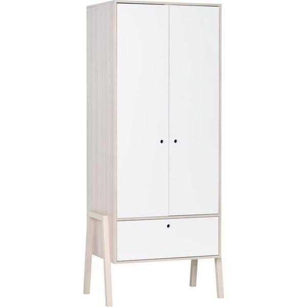 Voelkel Spot Collection White 2-Door Wardrobe