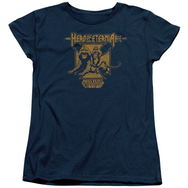 Masters Of The Universe/Hero Of Eternia Short Sleeve Women's Tee in Navy 20778117